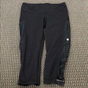 size 4 cropped Lululemon leggings